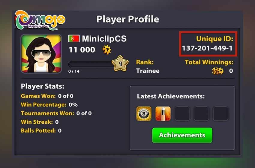 روش گذاشتن پروفایل برای بازی Soccer star