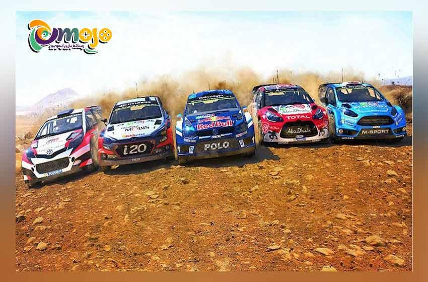 هوش مصنوعی بازی WRC 6