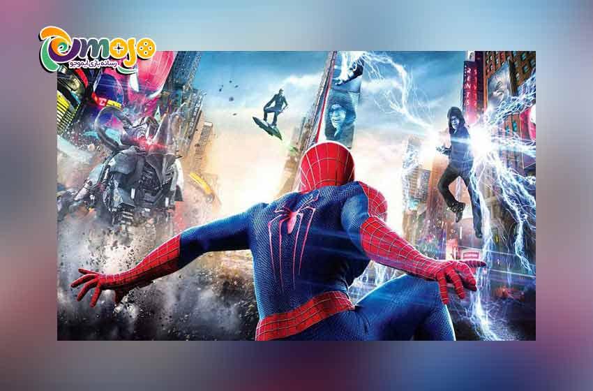 معرفی بازی های مرد عنکبوتی (اسپایدرمن)