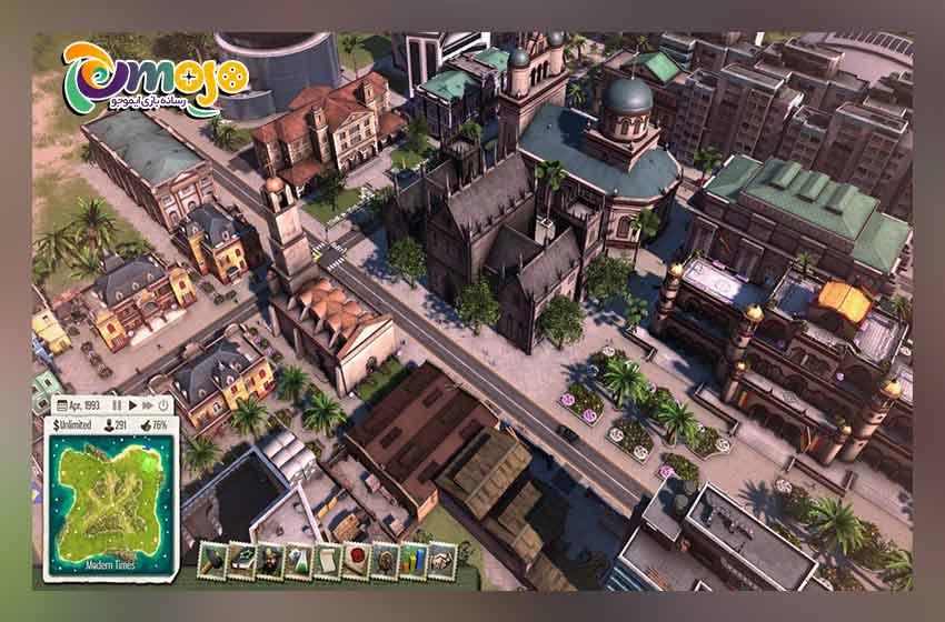 نقد و بررسی بازی tropico 5