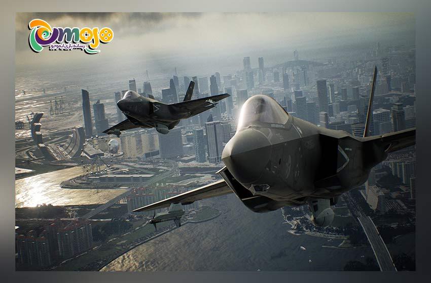 معرفی بازی Ace Combat 7