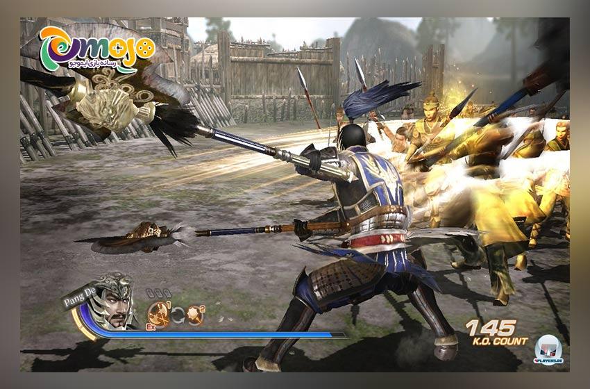 گرافیک بازی سلسله جنگجویان