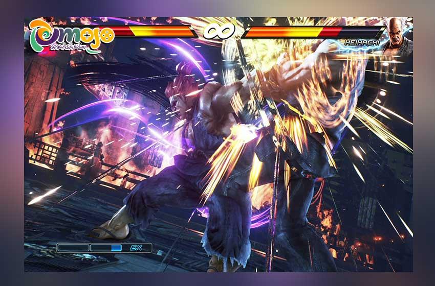 گیم پلی بازی Tekken 7