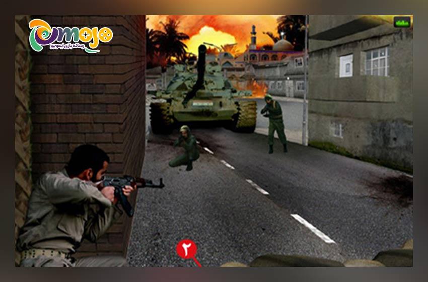 معایب بازی عملیات انهدام 2: نبرد خرمشهر