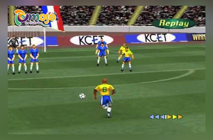 مزایا، ویژگی ها و قابلیت های بازی فوتبال 98