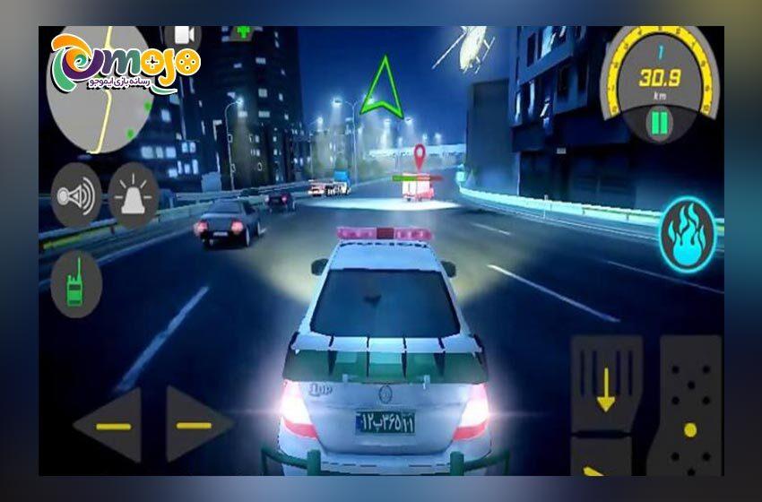 دانلود رایگان بازی گشت پلیس ۲ (خودروی پلیس)