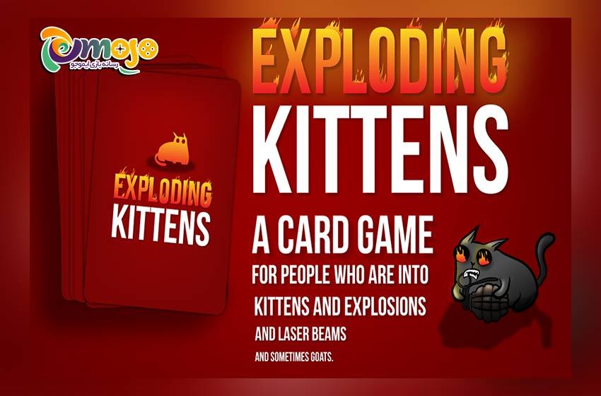 بازی Exploding Kittens
