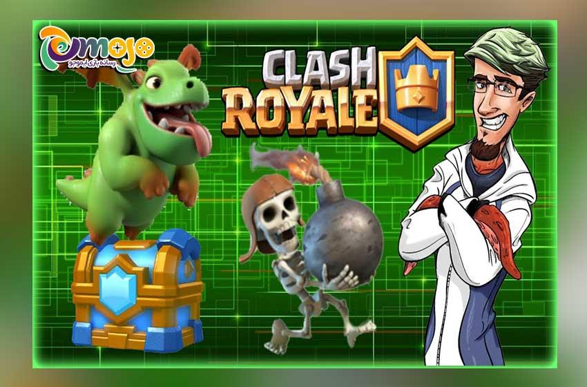 معرفی بازی در سبک کلش رویال (Clash Royale)