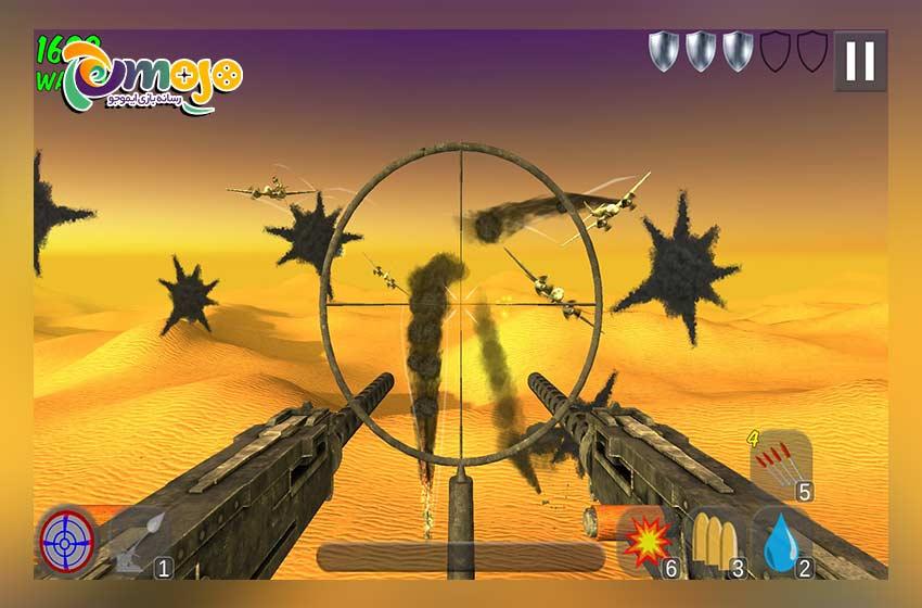 معرفی بازی ضد هوایی