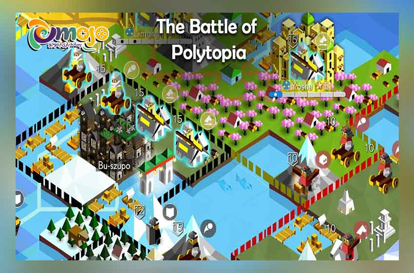 بازی The battle of Polytopia