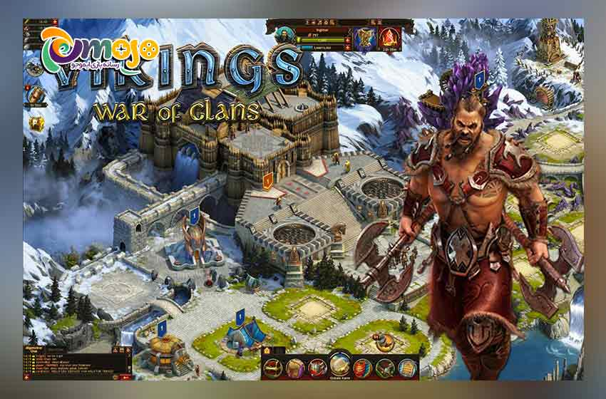 بازی Vikings: war of clans