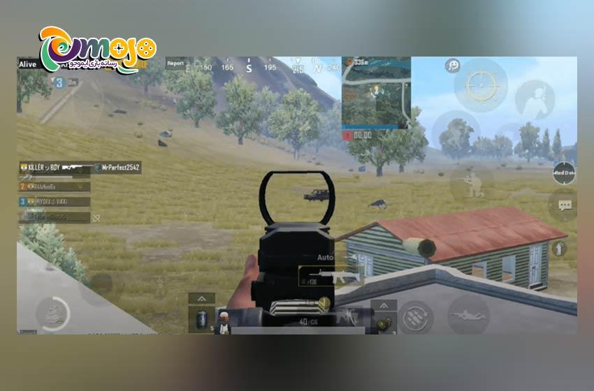 روش اول کشتن دشمن ها در وسیله های نقلیه در حال حرکت PUBG Mobile