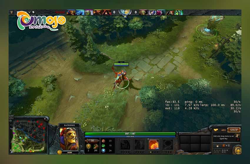 سیستم مورد نیاز بازی دوتا 2 (Dota 2)