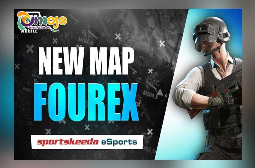 اضافه شدن مپ جدید Fourex به بازی پابجی موبایل