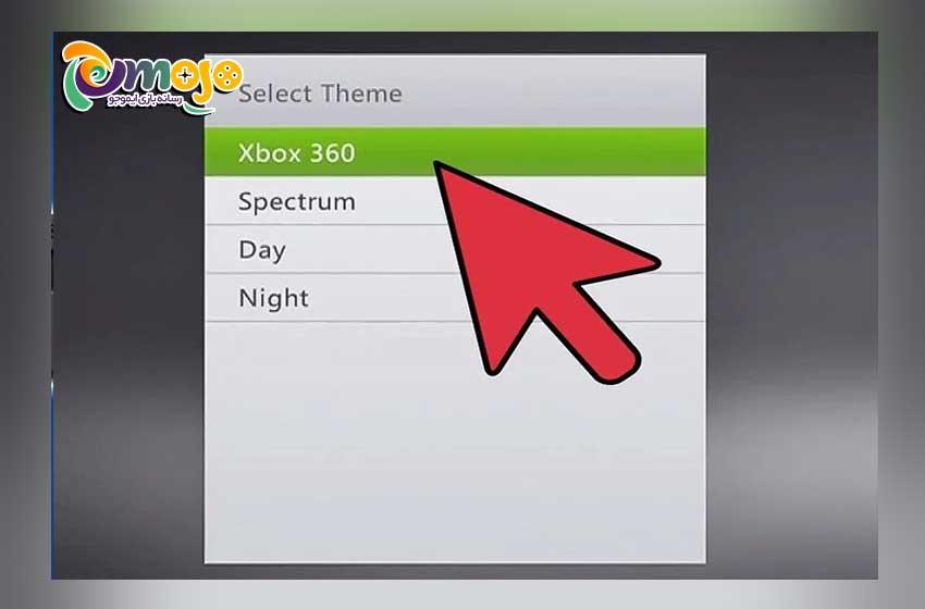 روش اول عکس گذاشتن روی Xbox 360