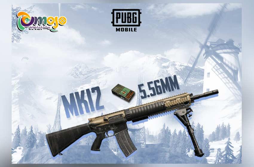 هر آنچه که باید در مورد سلاح MK12 پابجی موبایل بدانید