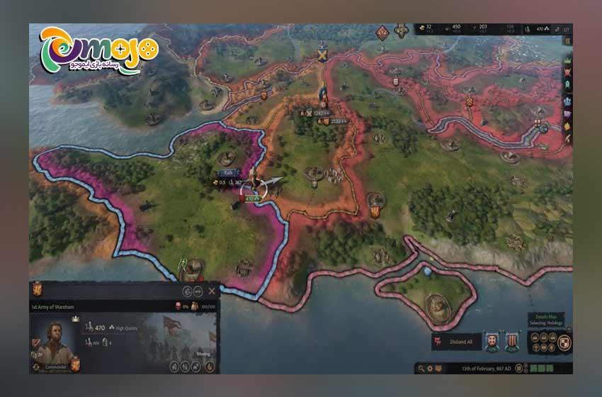 جزئیات بازی Crusader Kings 3