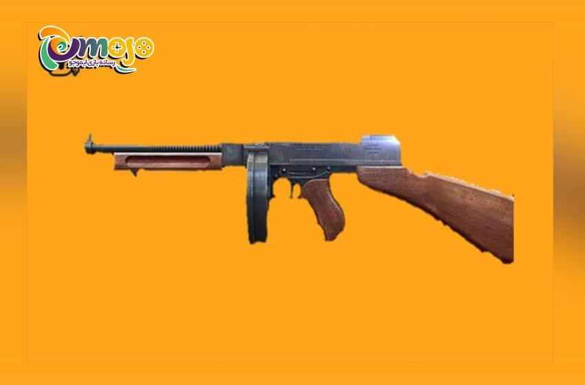 سریع ترین سلاح ها در بازی فری فایر : سلاح Thomson