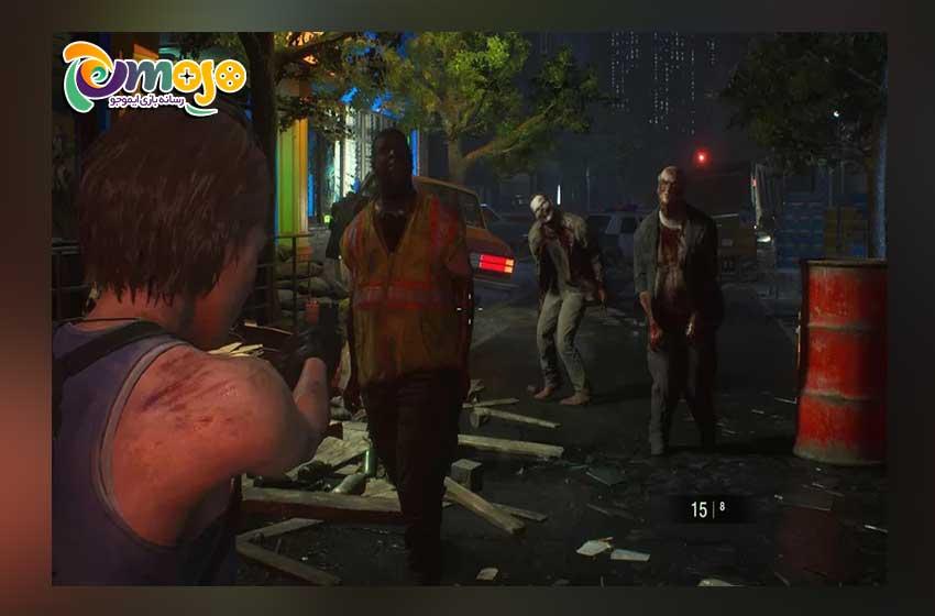 بهبود شخصیتهای بازی Resident Evil 3 Remake