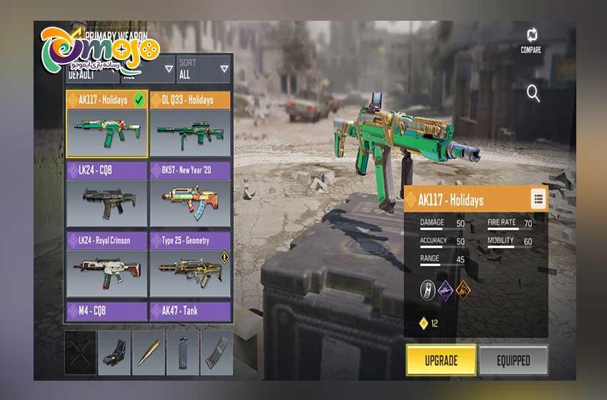 بهترین سلاح های سیزن 11 بازی کالاف دیوتی موبایل: اسلحه Fennec