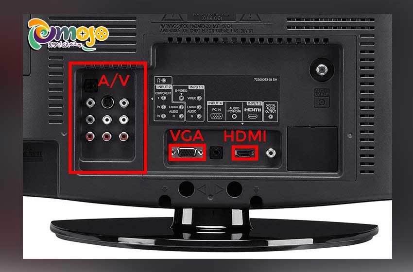 استفاده از VGA HD AV برای اتصال Xbox 360 به تلویزیون