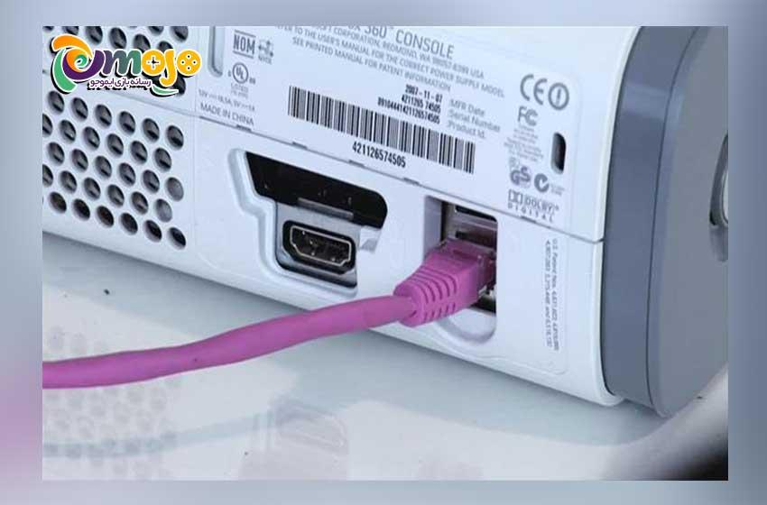آموزش گام به گام اتصال ایکس باکس 360 به تلویزیون